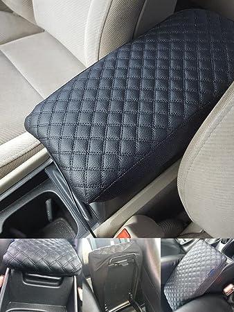 Amazon.com: piel coche auto caja de Apoyabrazos consola ...