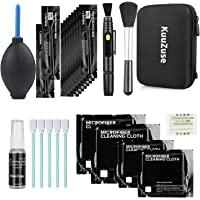 KuuZuse Professional DSLR Camera Cleaning Kit with APS-C Cleaning Swabs, Microfiber Cloths, Lens Cleaning Pen, for…