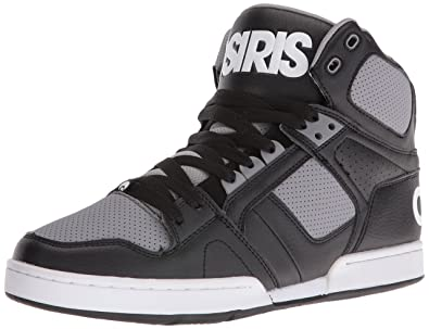 dc3c8dc7e52 Osiris Men's NYC 83 Skateboarding Shoe, Black/Grey, ...