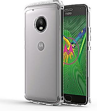 OMOTON Funda Motorola Moto G5 plus,Carcasa Moto G5 plus Case,Suave ...