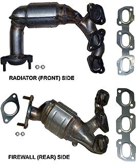 Ford Escape 3.0 V6 (2001-2006) Catalytic Converter Manifold Set; Side: