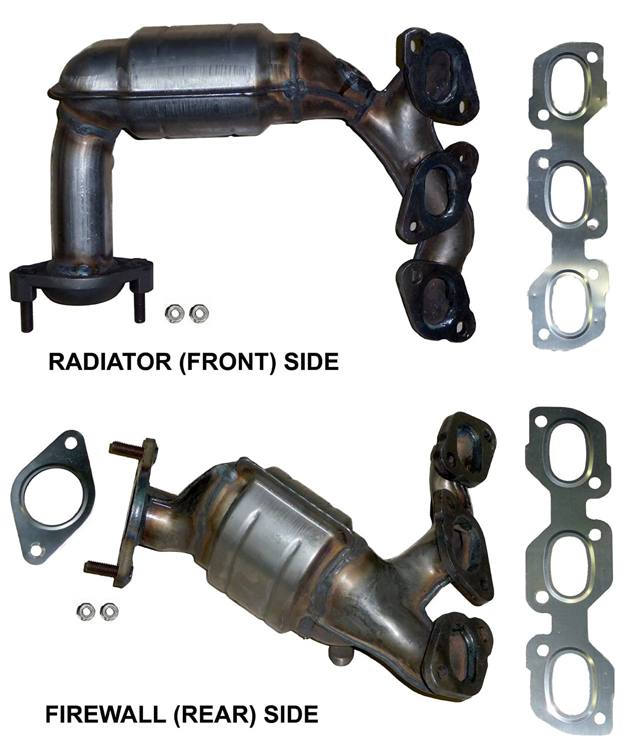 Mazda Tribute Automatic Where Can I Download The Diagram 30 V6 Catalytic Converter Manifold Set Side Radiator Front Bank 2 Lhs And Firewall Rear 1