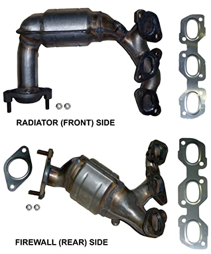 amazon com mazda tribute 3 0 v6 catalytic converter manifold set rh amazon com 2004 Mazda 6 Engine Diagram Ford Escape V6 Engine Diagram