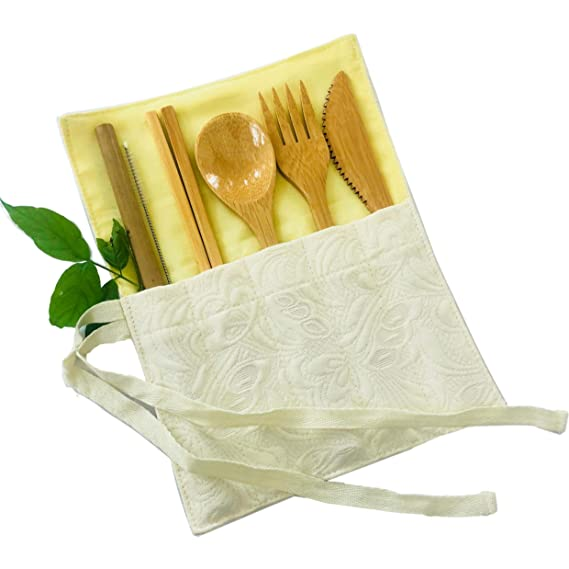 Bamboo cutlery utensils