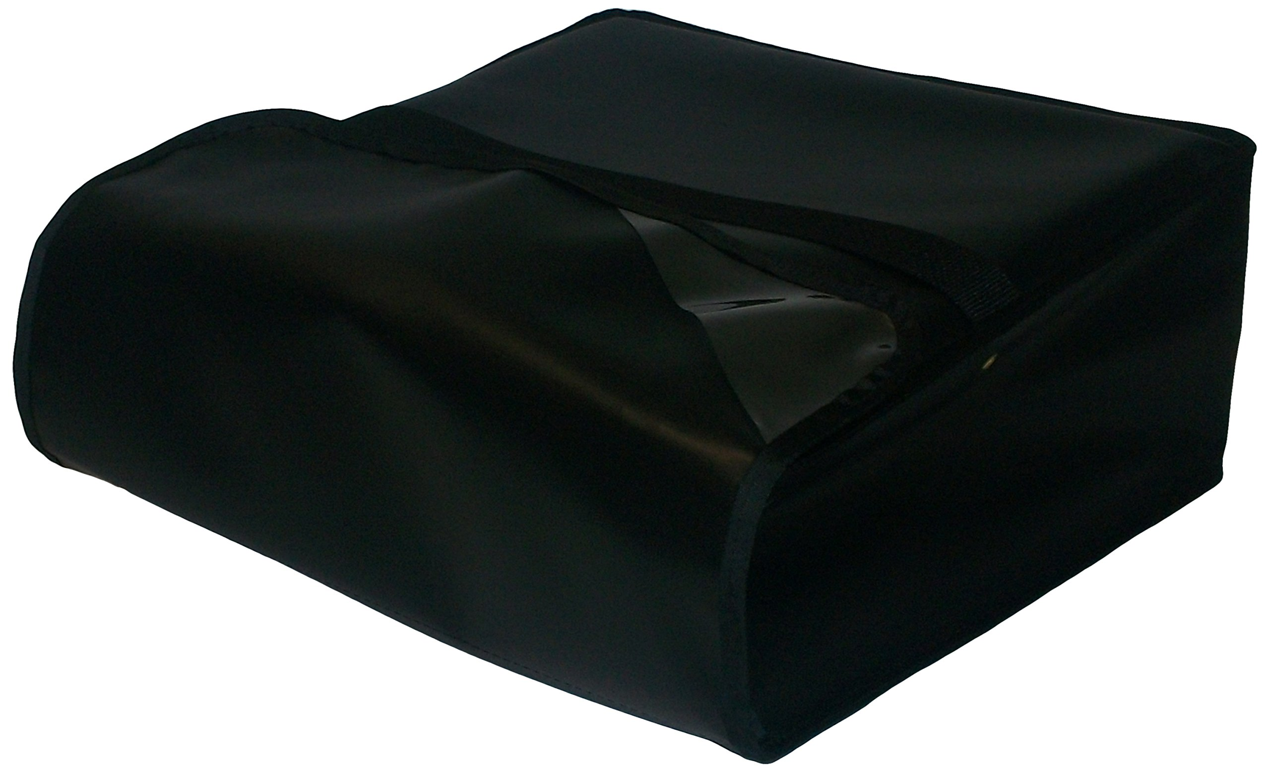 TCB Insulated Bags PK-316-Black Insulated Pizza Delivery Bag, Holds 3 Each 14'' Pizzas, 16'' x 16'' x 7'', Black