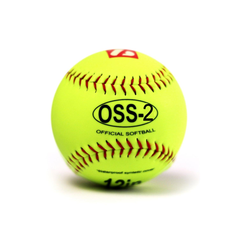 baseball initiation 12 1 douzaine blanc barnett OSS-2 balle de softball
