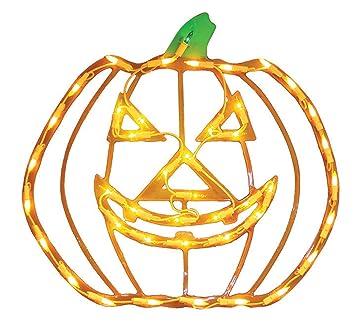 Amazon.com: Impact Innovations Halloween Lighted Window Decoration ...
