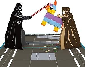 Lovepop Star Wars Darth Vader Celebration Pop Up Card - 3D Cards, Greeting Cards, Birthday Cards, Pop-Up Greeting Cards, Birthday Cards for Kids, Celebration Cards