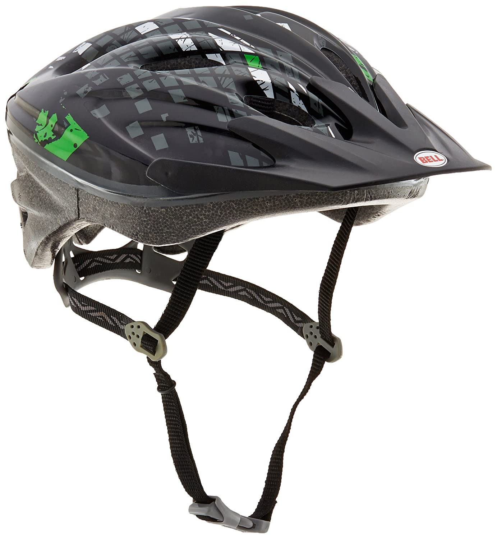 Bell Youth Aero Bike Helmet, Black Green Diamondback 7020932