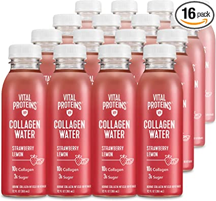 Amazon Com Vital Proteins Collagen Water Strawberry Lemon 16 Pack Health Personal Care,Yellow Automotive Paint