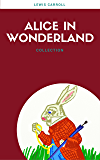 Alice In Wonderland: Collection [Free Audiobook Links Included] (Lecture Club Classics)