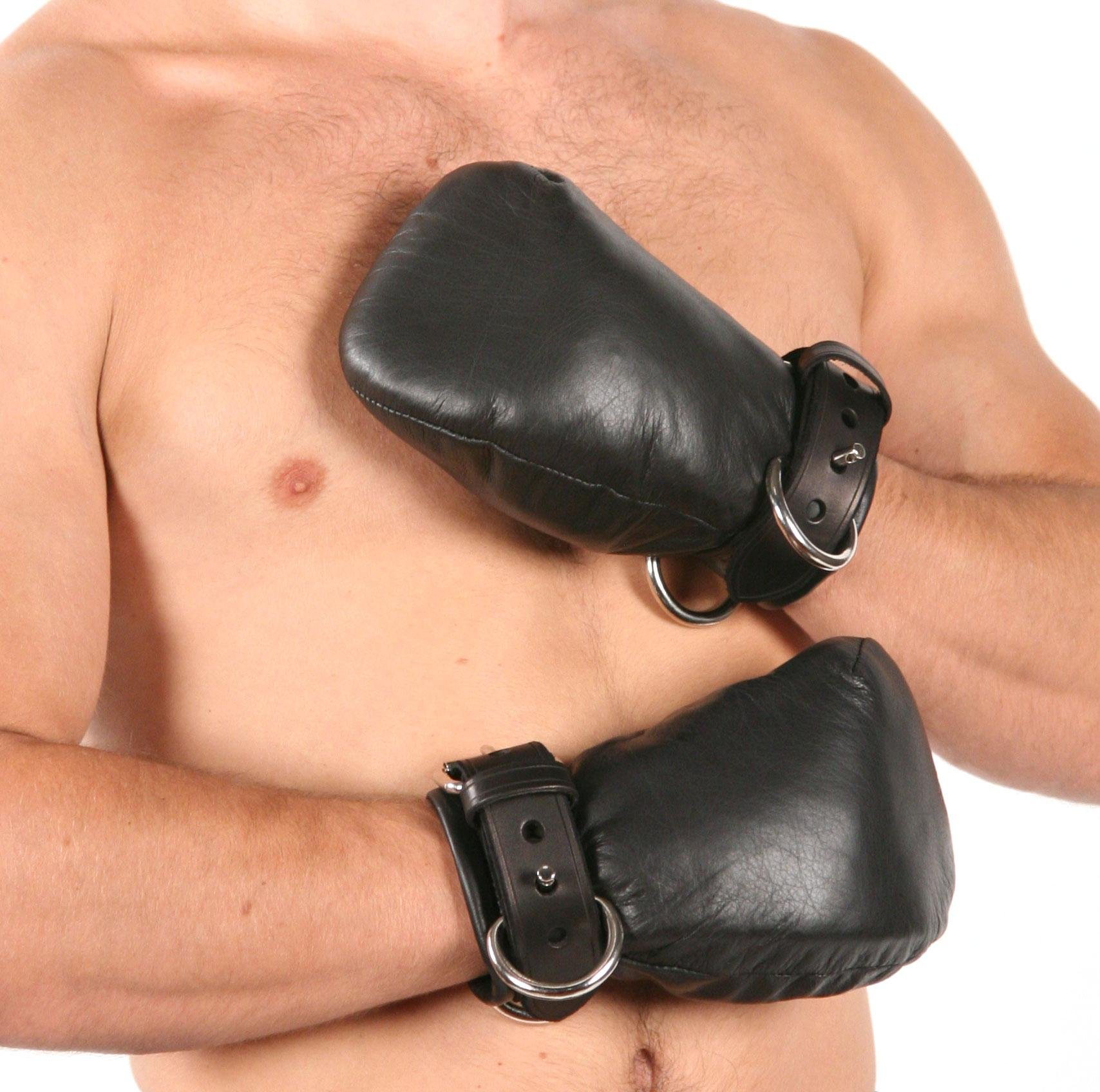 Mr-S-Leather Padded Fist Mitts - Men's by Mr-S-Leather