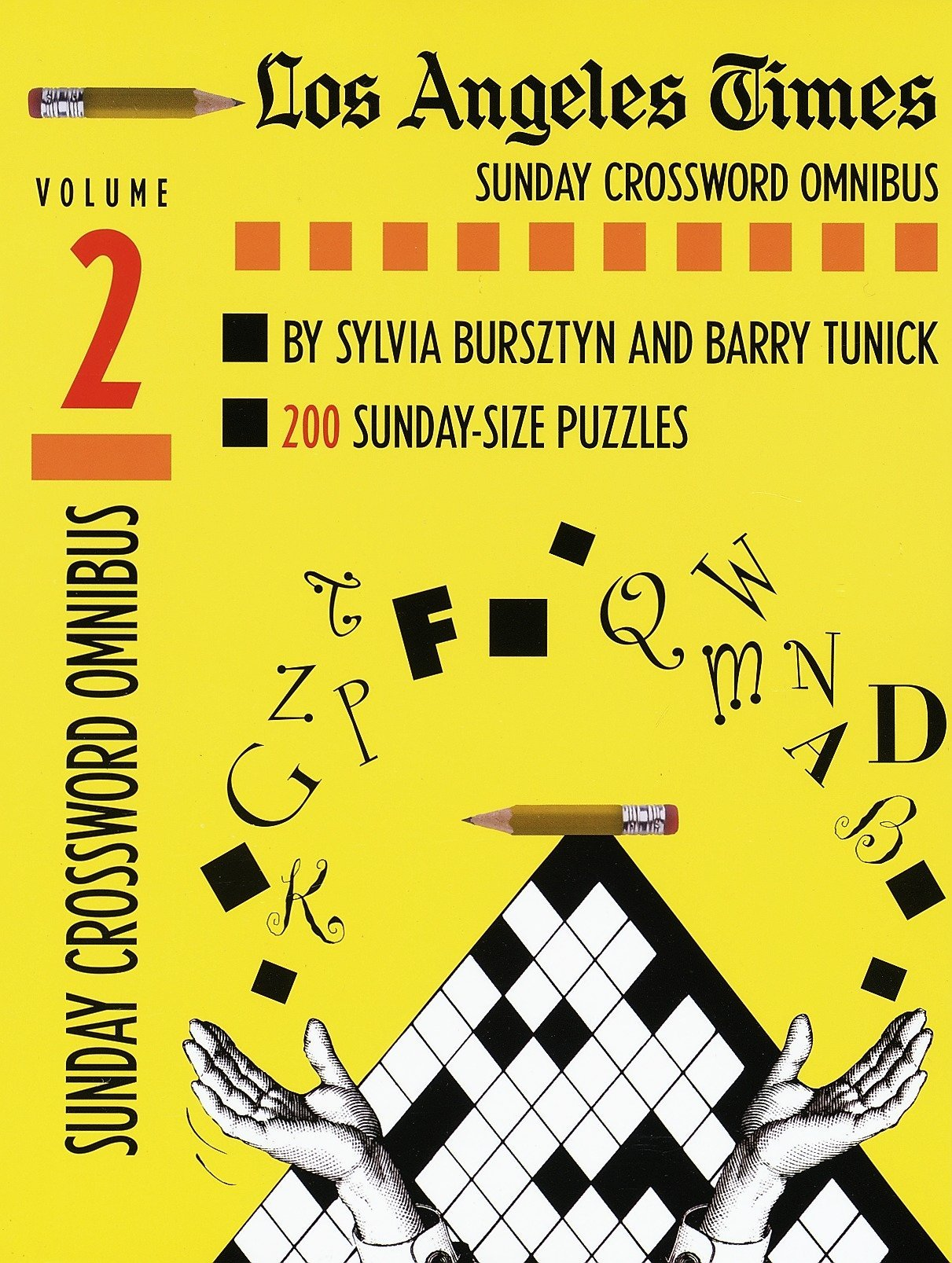 Los Angeles Times Sunday Crossword Omnibus Volume 2 The Los