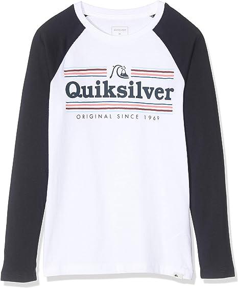 Quiksilver Get Buzzy-Camiseta de Manga Larga para Chicos 8-16, Niños: Amazon.es: Deportes y aire libre