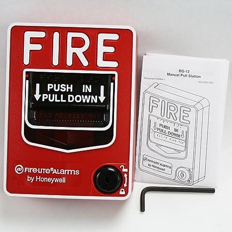 Bg-12 - Estación de alarma para fuego Firelite: Amazon.es: Bricolaje y herramientas