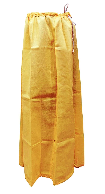 PEEGLI Algodón De Las Mujeres Forro De Bollywood Sari Falda ...