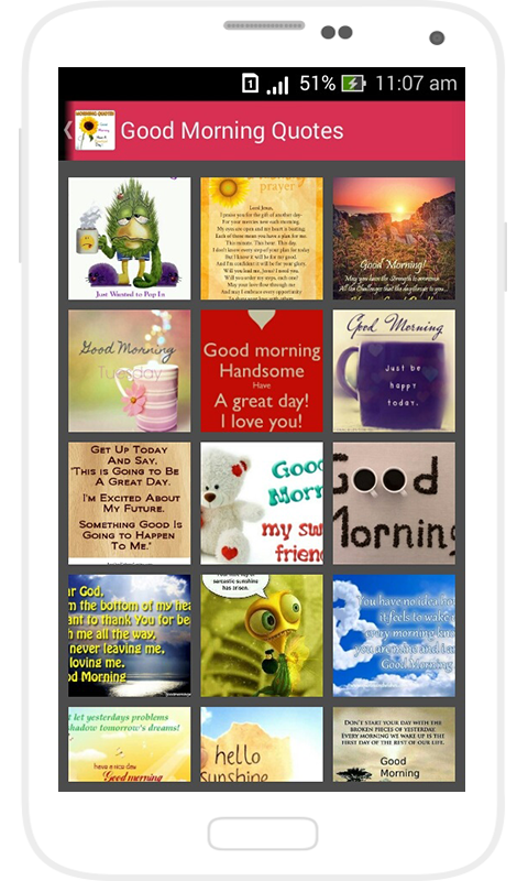 Good Morning Quotes Collection Extremely Easy To Use No Advertising