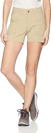 Columbia Women's Silver Ridge Stretch Short II,British Tan,16x5