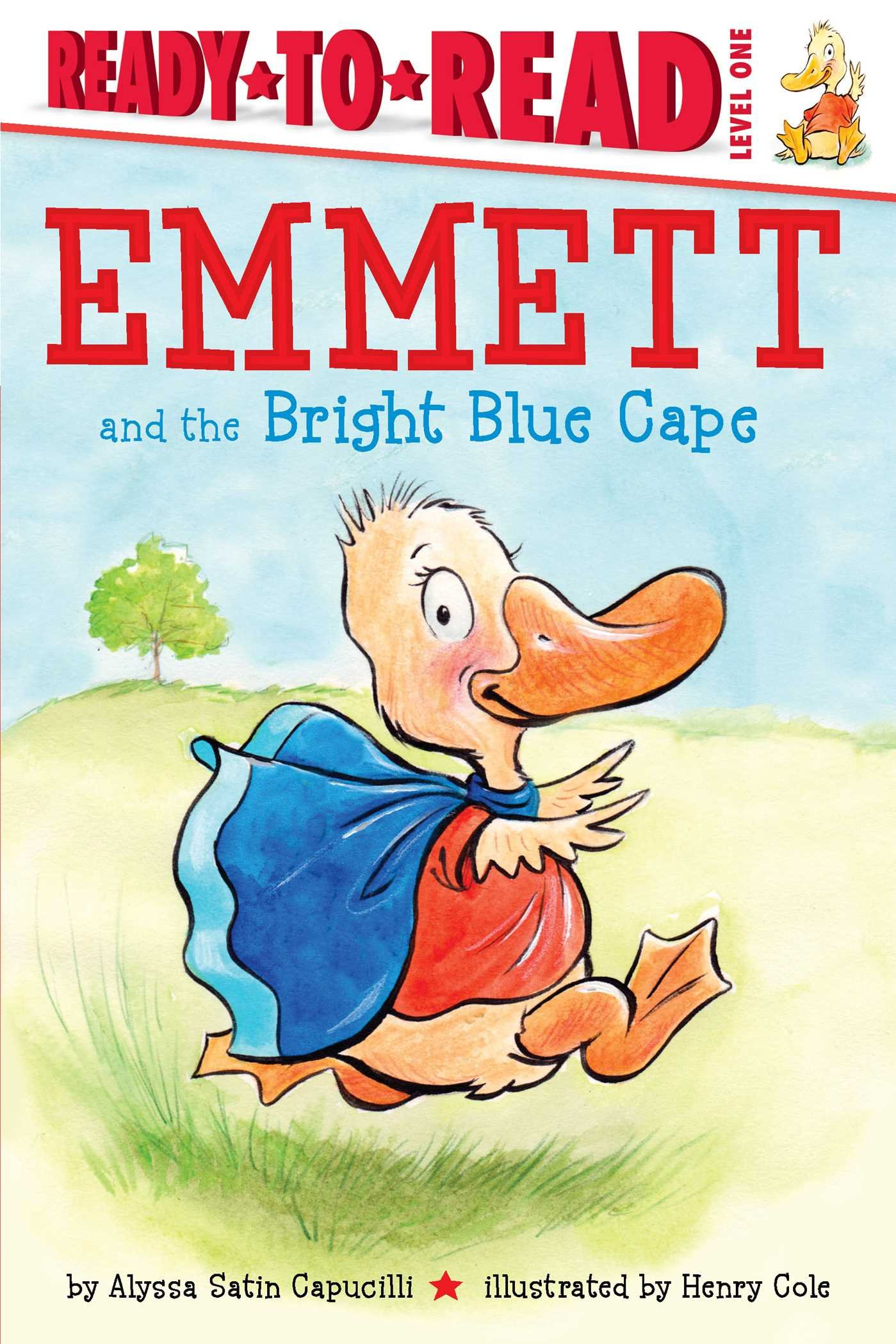 Download Emmett and the Bright Blue Cape (Ready-to-Reads) pdf