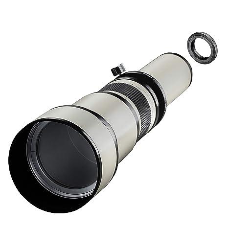 Samyang MF - Cámara réflex Digital (650-1300 mm, F8.0-16.0, Nikon ...
