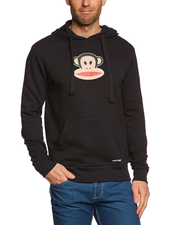Paul Frank Sweatshirt Julius Head Hoodie - Sudadera con capucha, color negro, talla S: Amazon.es: Deportes y aire libre
