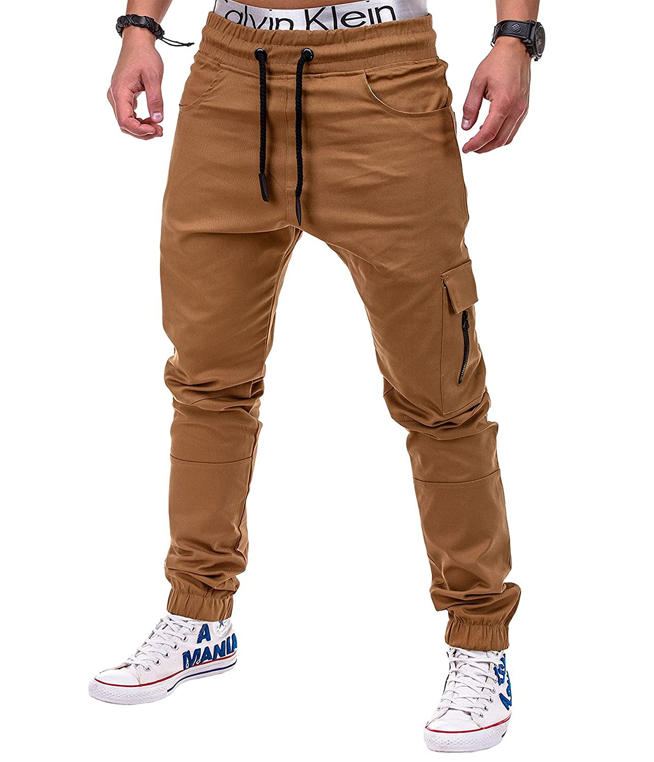 651bb39e79 30%OFF Betterstylz MasonBZ Zip Cargo Chino Jogger Men´s Pants Harem Style  Trousers