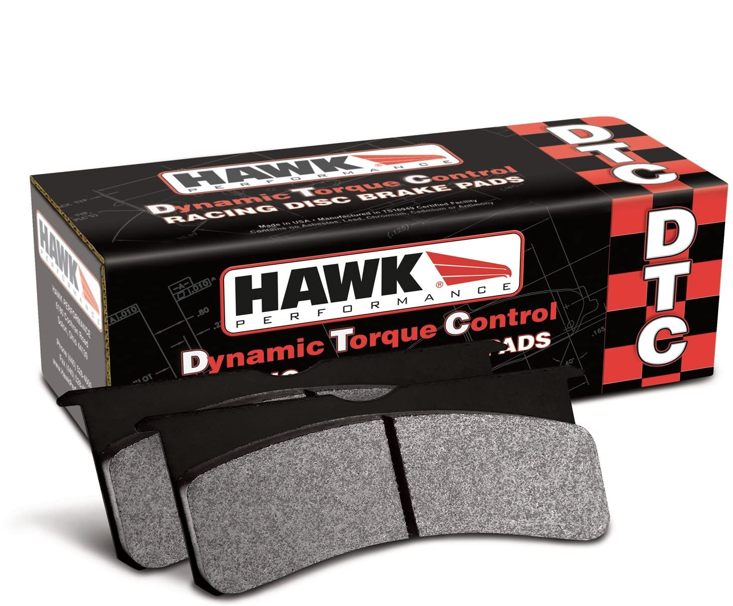 Hawk Performance HB105U.980 Disc Brake Pad