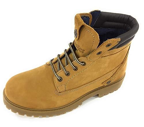 Wrangler Creek WM182000 Amarillo Botines Hombre Calzado Cómodo - Amarillo, 42 EU: Amazon.es: Zapatos y complementos
