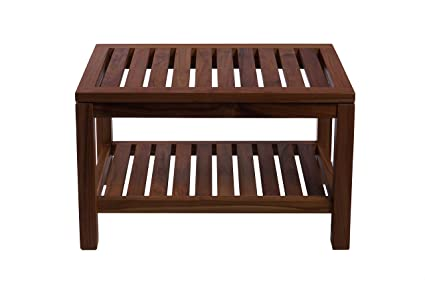 Awesome Amazon Com Teak Boutique Large Rectangle Bench 100 Teak Andrewgaddart Wooden Chair Designs For Living Room Andrewgaddartcom