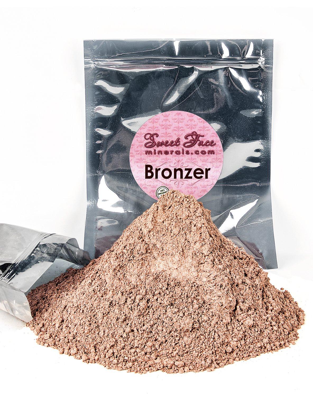 BRONZER BULK REFILL Mineral Makeup Bronzing Warmth Tanning Powder Bare Face Sun Glow Foundation (8 Ounces)