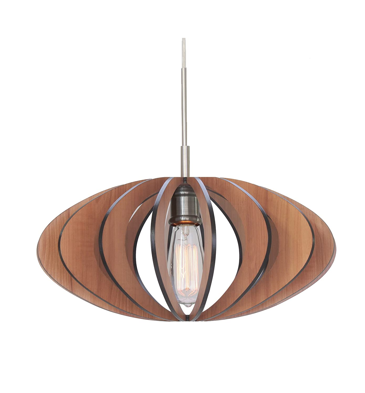 Woodbridge Lighting 14023STNW1D1CH Canopy 1Light MiniPendant