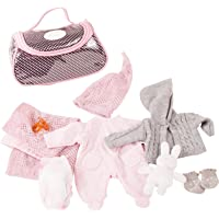 Götz 2832 Gotz 3402832 Large Cosy Rabbit Clothing/Accessory Set-Suitable for Baby Dolls Size S (30-33 cm), Multi…