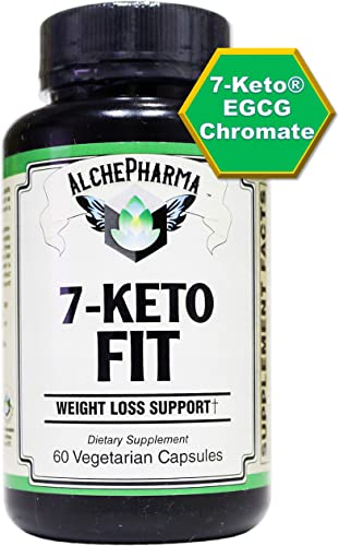 AP 7-Keto Fit. 7-Keto 3-acetyl-7-oxo-dehydroepiandrosterone EGCG ChromeMate 30 Day Supply, 60 Vcaps