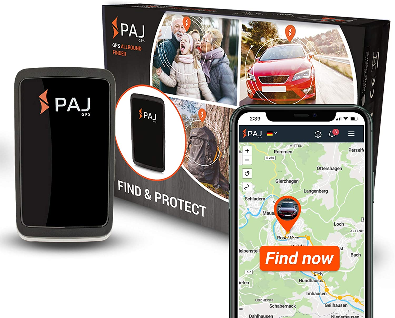 Testsieger: PAJ Allround Finder - GPS-Tracker