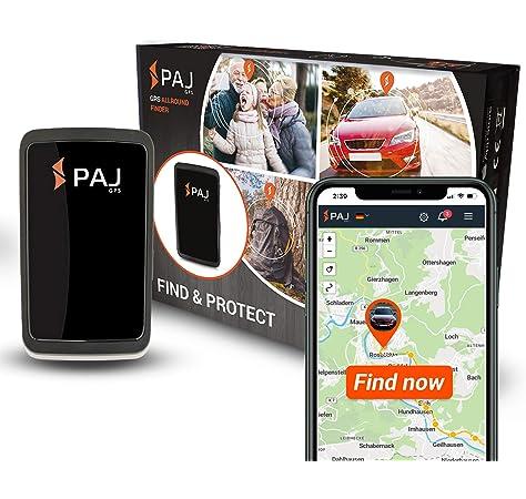 PAJ GPS Allround Finder Versión 2020 Localizador GPS - Rastreador en Directo para Personas, Coches - 20 días de duración de batería (60 días en Modo de Espera): Amazon.es: Coche y moto