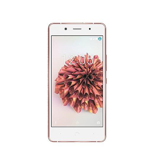 7 opinioni per BQ Aquaris X5 Plus Smartphone, Memoria interna 16 GB, Bianco/Rosa Oro-