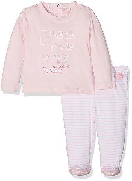 losan 81W-8003AD, Conjunto de Ropa para Bebés, (Rosa Claro),