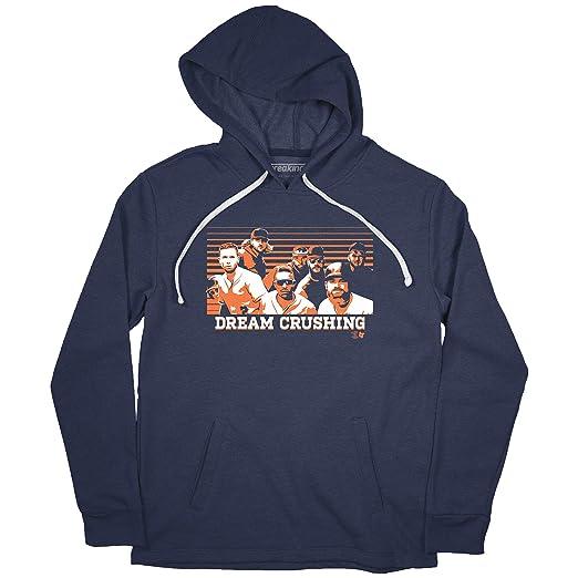 separation shoes 040c2 3ce84 Amazon.com : MLB Houston Astros Mens Dream Crushing HOODIE ...