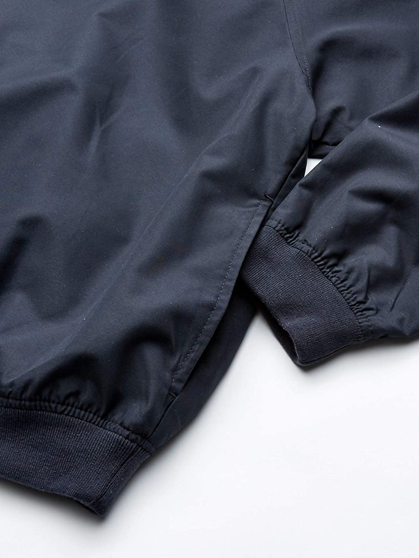 UltraClubs Mens Ultc-8926-long-sleeve Microfiber Cross-Over V-Neck Windshirt