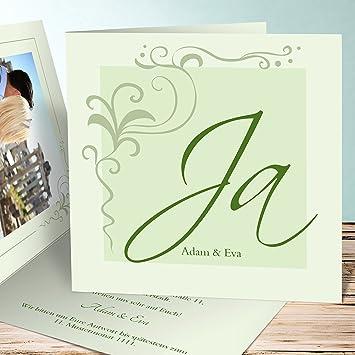 Hochzeitseinladungen Selbst Gestalten Paradiesgarten 45 Karten