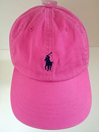 e8d1ca8e9a3d9 Ralph Lauren Polo Bright Pink Men Women Baseball Cap with Horse Logo  Adjustable