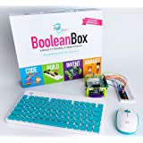 Boolean Box Build a Computer Science Kit for Kids | Includes Electronics, Coding, Animation and Lessons in Scratch, Minecraft