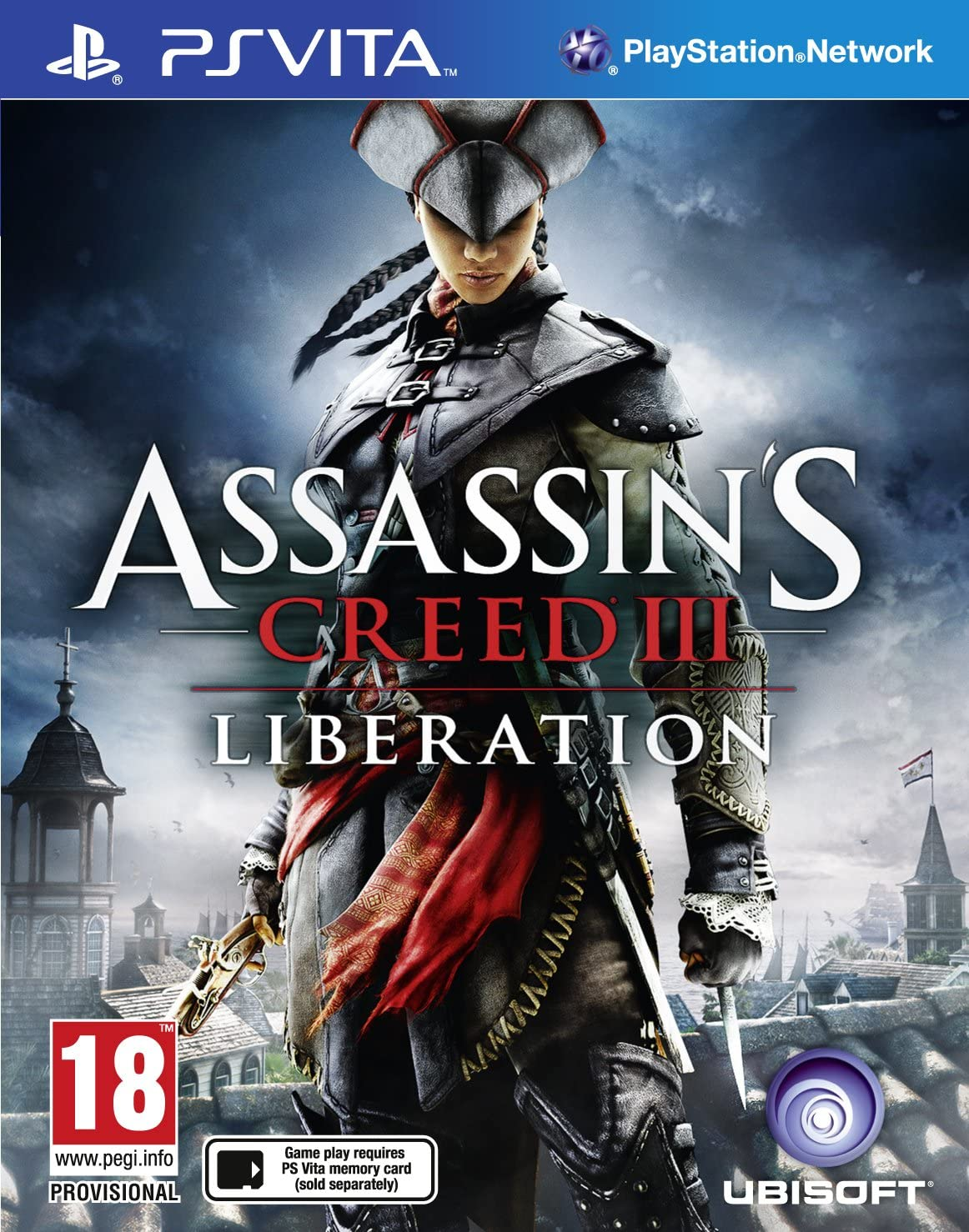 Assassin S Creed Iii Liberation Ps Vita Amazon Co Uk Pc