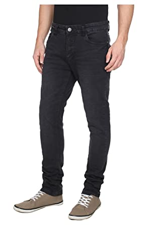 Sublevel Skinny Stretch Jeans Slim Fit Jeans 2014 Star MOD 16078 D.G, black  denim,