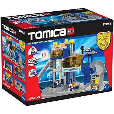 Tomy – 85406 – Tomica – Coffret PC de Police Hypercity Rescue