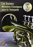 Veiga Les Grandes Melodies Classiques Pour La Trompette Tpt Book/Mp3Cd