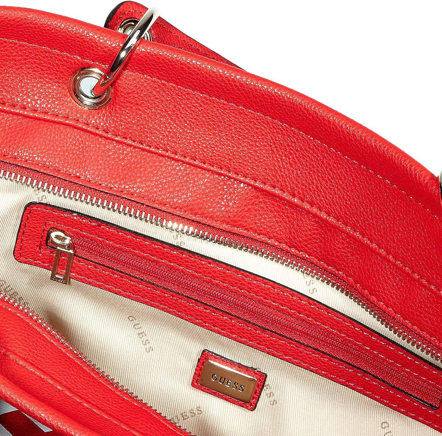 Guess Michy Tote, Sac cabas Multicolore (Red Multi Rml)