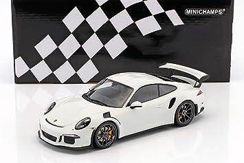 Minichamps – Porsche – 911/991 GT3 RS – 2015 Coche de ferrocarril de Collection