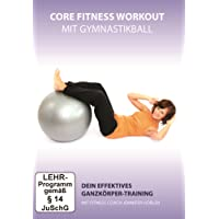 Core Fitness Workout - Ganzkörper-Training mit Gymnastikball