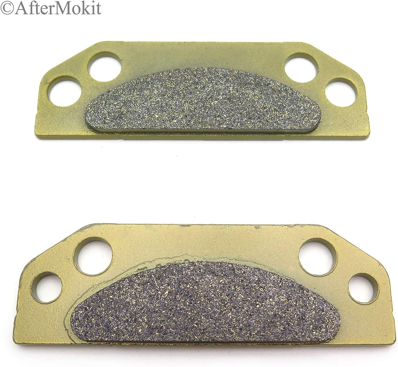 AfterMokit Replacement Rear Parking Brake Pads for Polaris Ranger 2X4 4X4 6X6 500 700 800 900 XP LSV LE INTL EV EFI DIESEL CREW CARB 2005 2006 2007 2008 2009 2010 2011 2012 2013 2014 2015 2017 FA659
